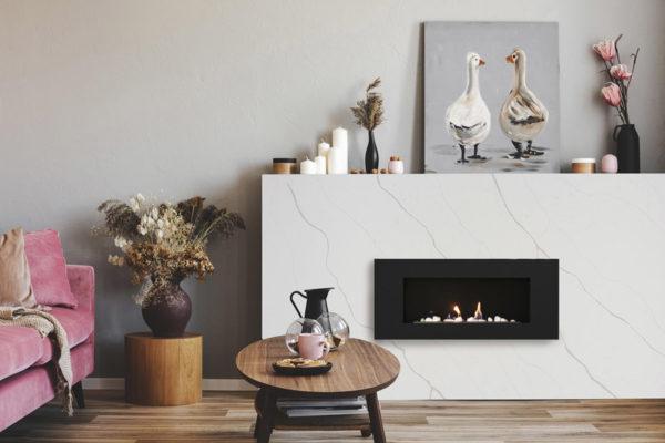 quartz, quartz surfaces, quartz manufacturer, quartz fireplace