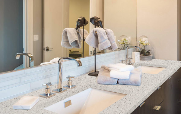 bathroom vanities, bathroom countertop, quartz countertops