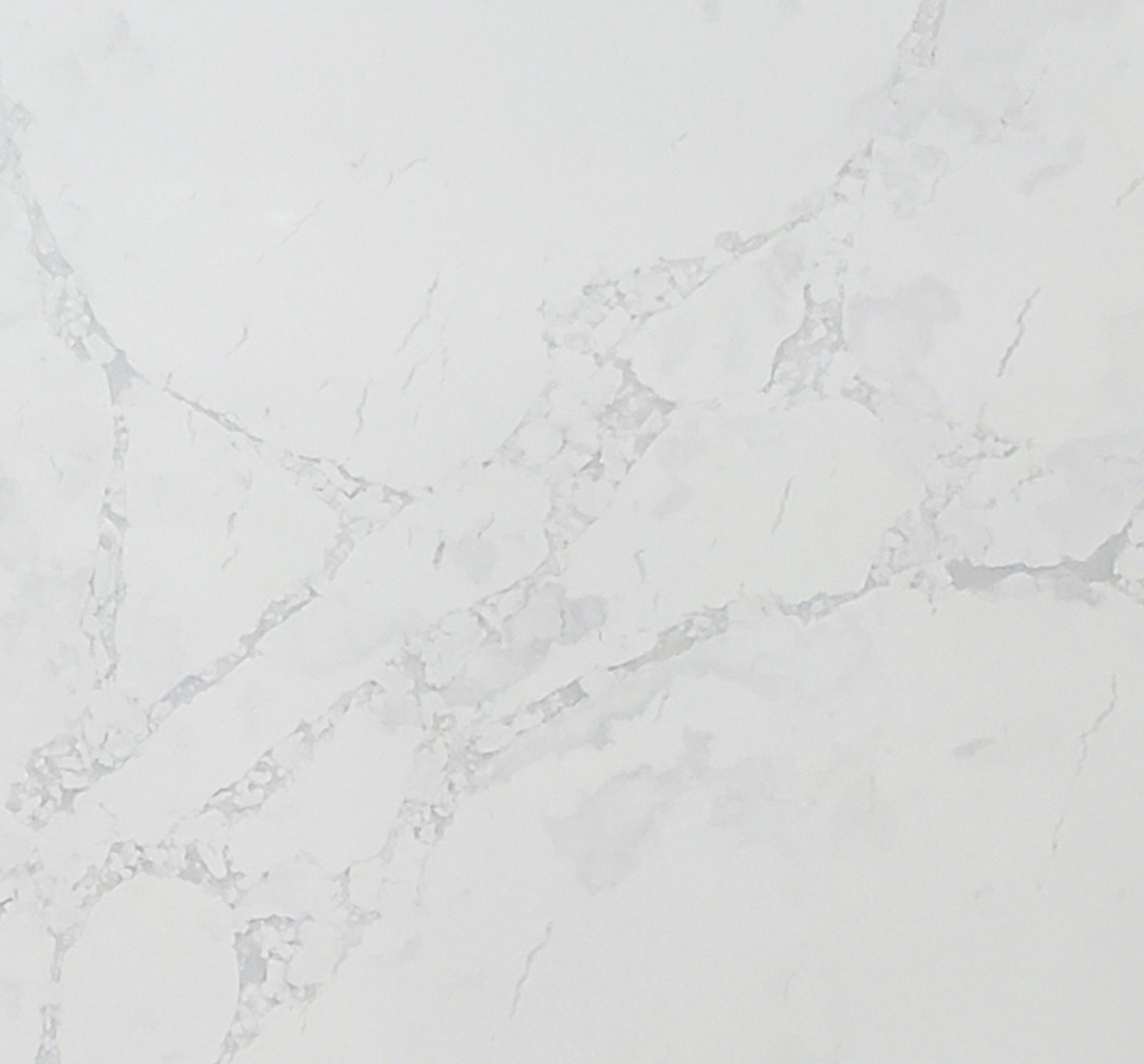 Arabescato Quartz Close up slab image