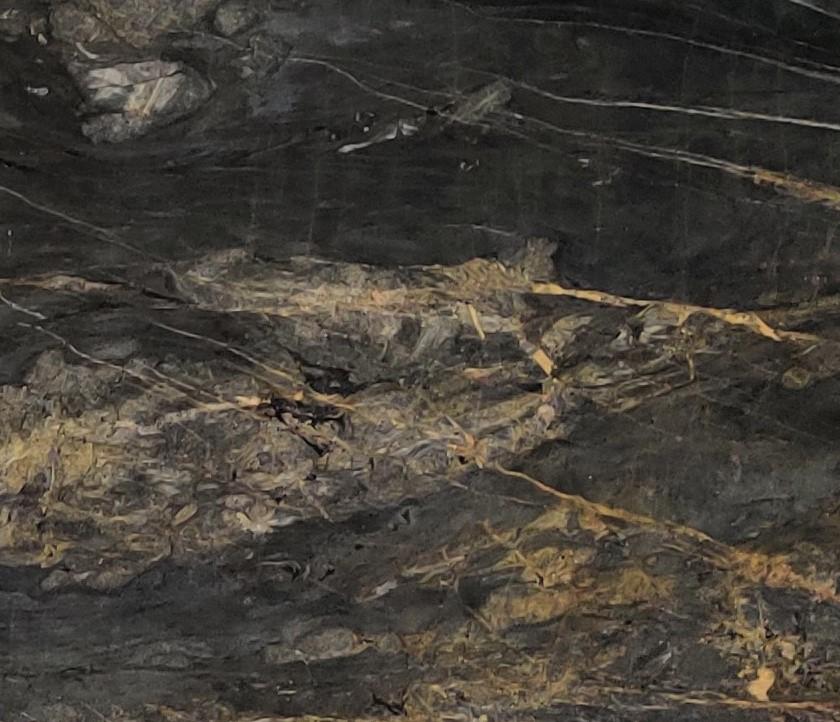 Lava oro closeup